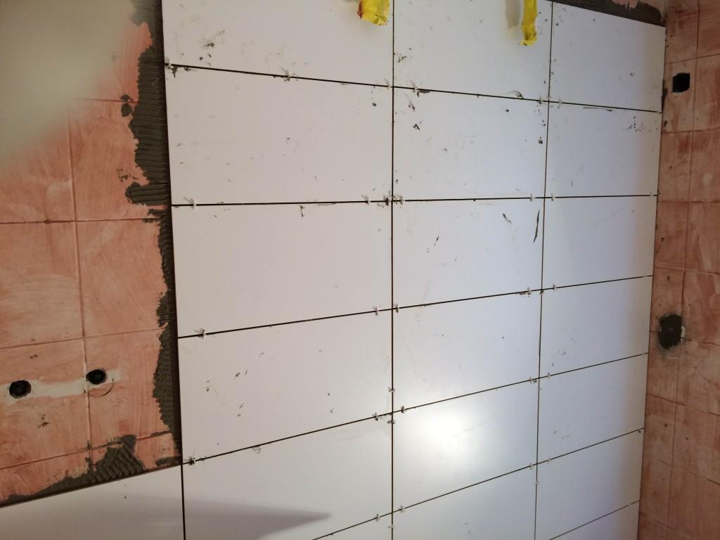 Femke tegels badkamer