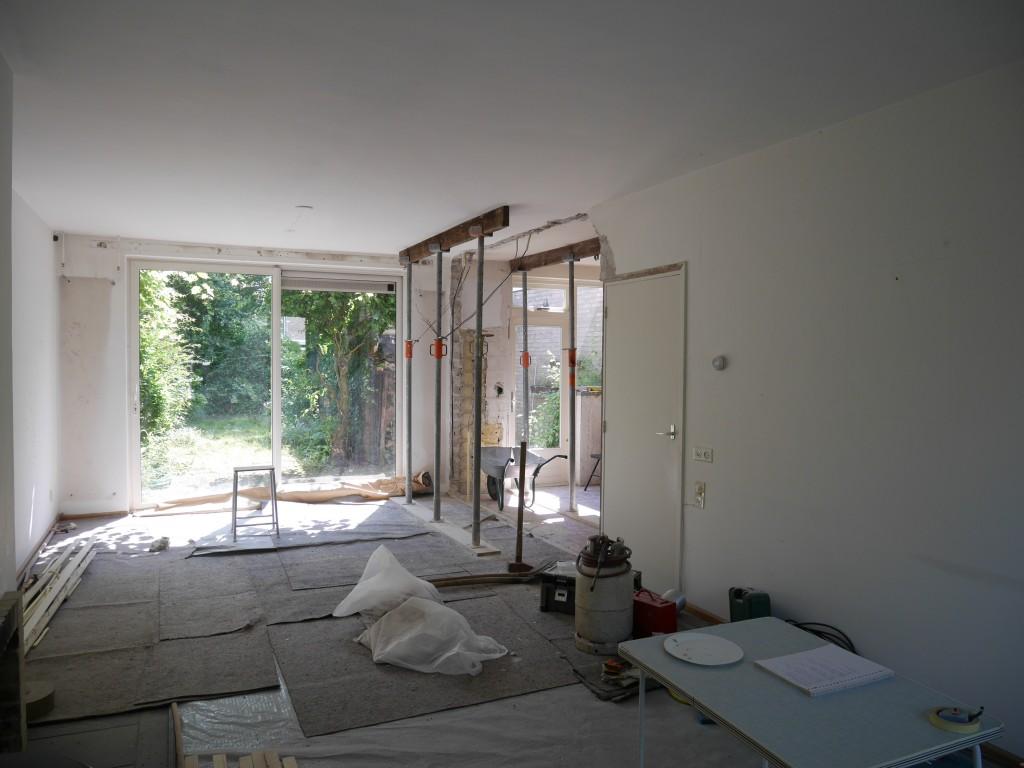 Femke verbouwen open ruimte woonkamer