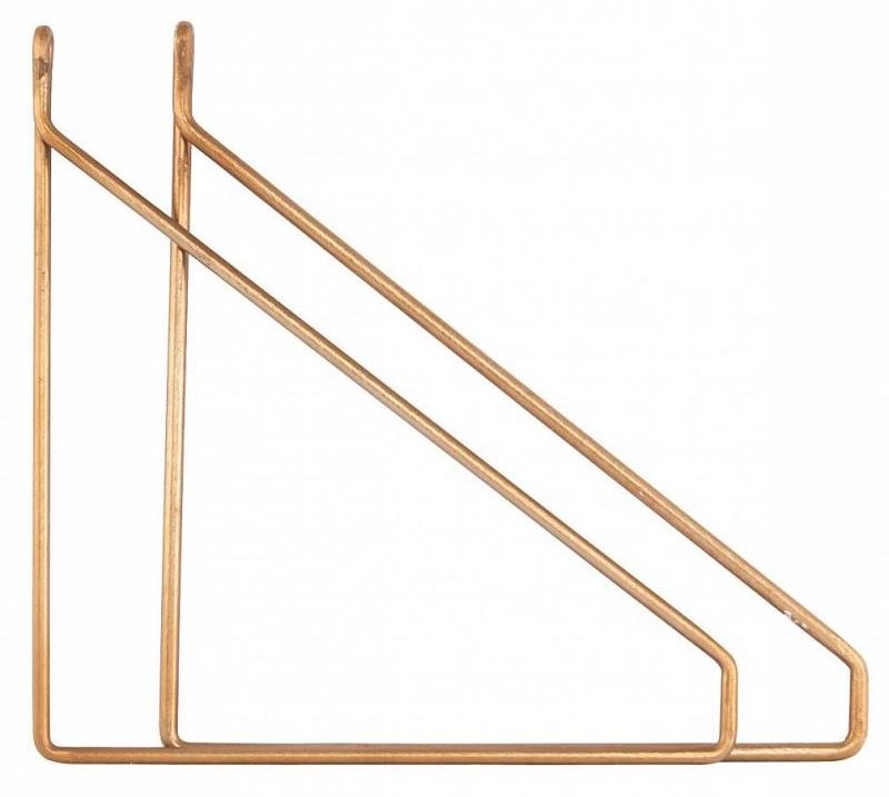 Plankdragers van House Doctor in de kleur brass/koper