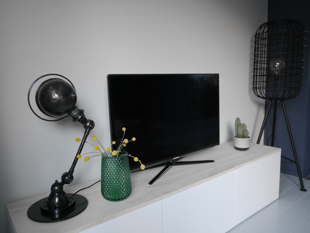 Ikea Tv Meubel Zwartbruin.Tv Meubel Plank Bwt57 Agneswamu